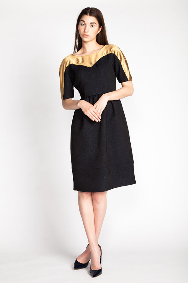 Buy the Leotie dress sewing pattern from Named Clothing from The Fold Line