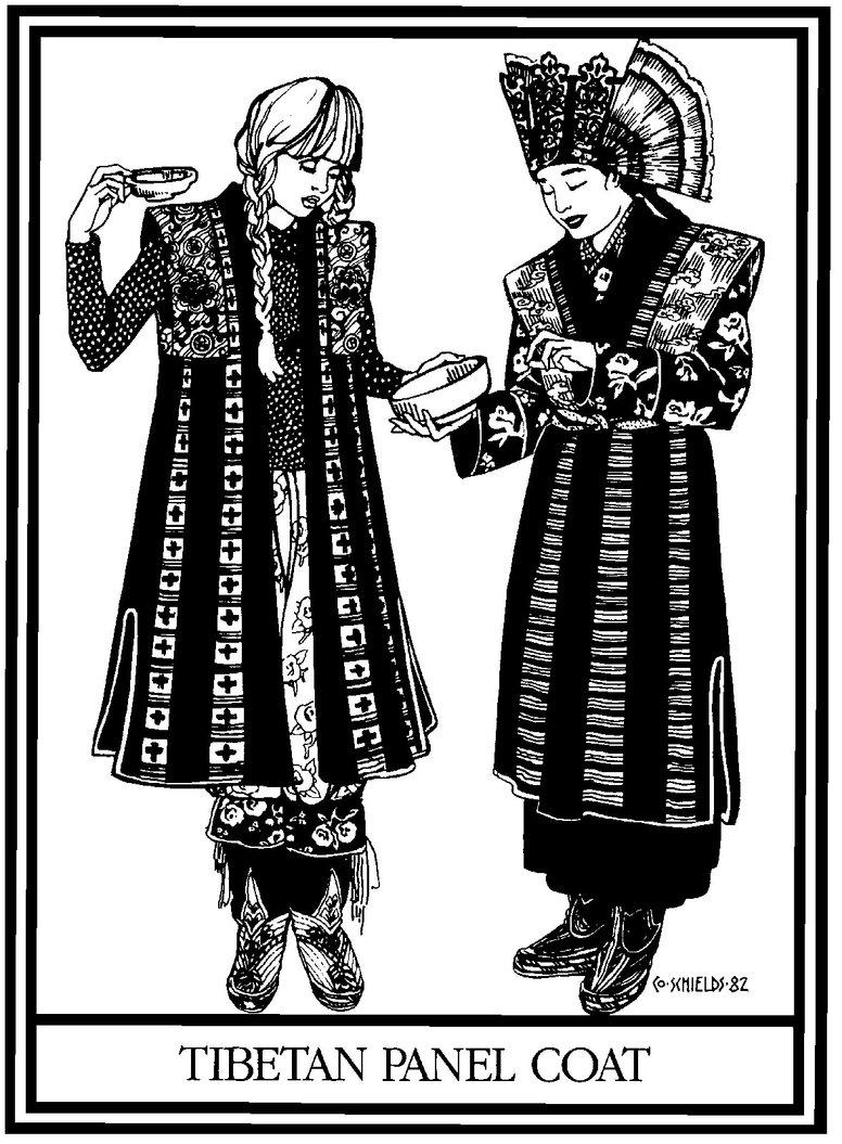 118 Tibetan Panel Coat The Foldline
