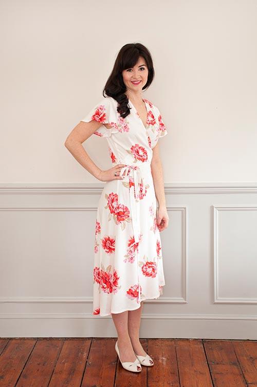 Buy the Eve dress sewing pattern from Sew Over It from The fold Line