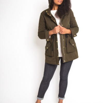 Buy the Kelly anorak sewing pattern from Closet Case Patterns from The Fold Line
