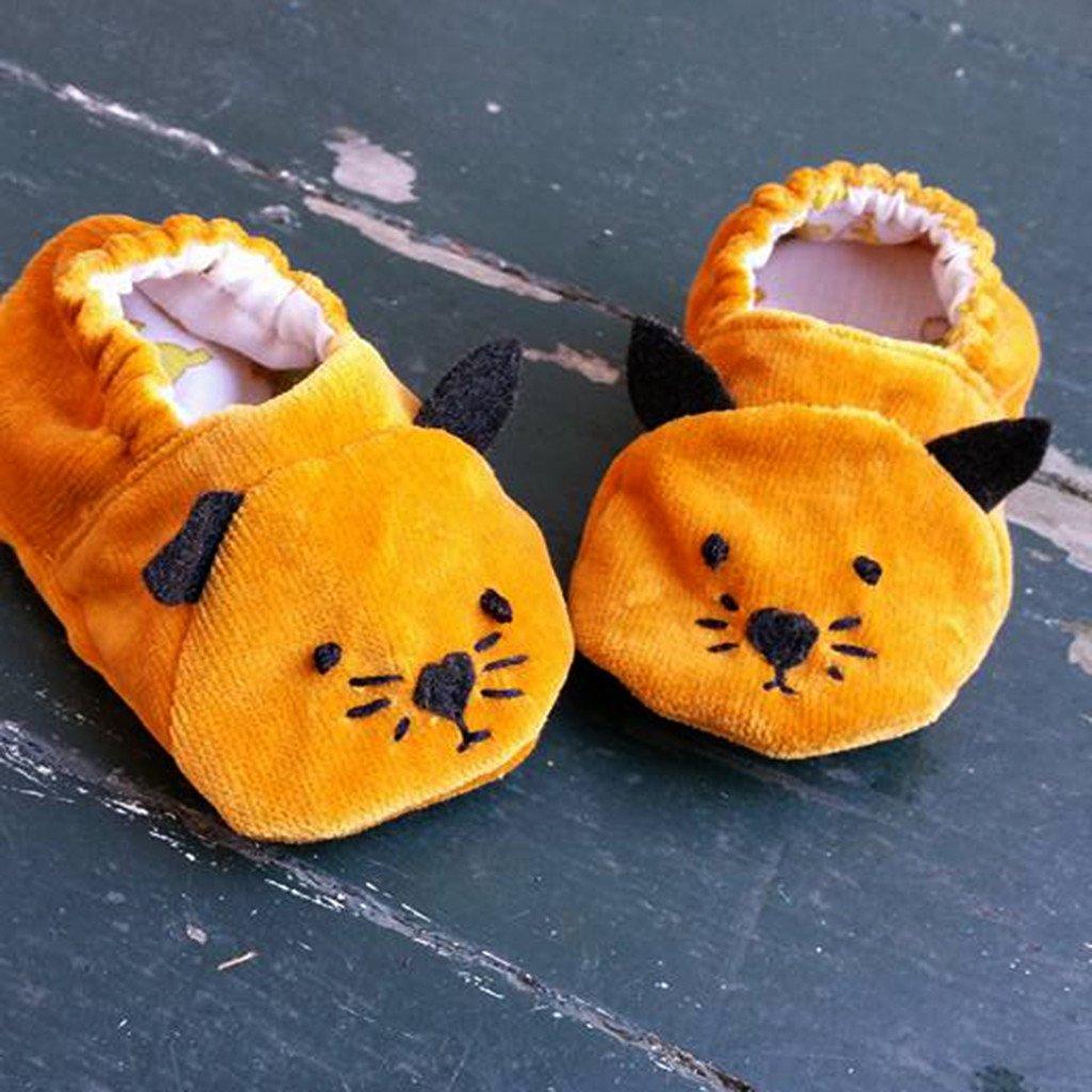 Babies' Animal Shoes - The Foldline