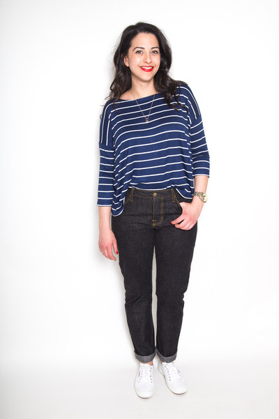 Buy the Morgan jeans sewing pattern from Closet Case Patterns from The Fold Line