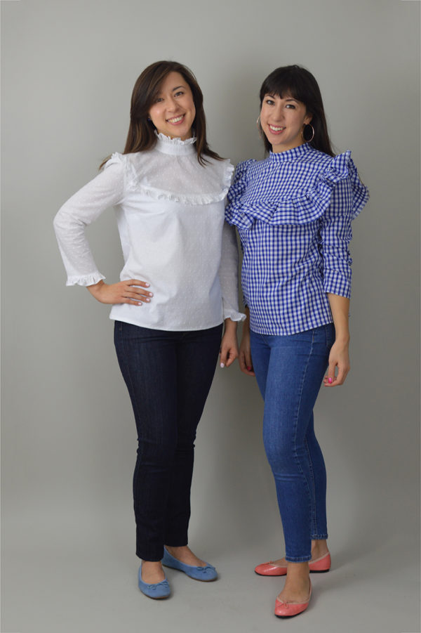 Buy the Bloomsbury blouse sewing pattern from Nina Lee London from The Fold Line