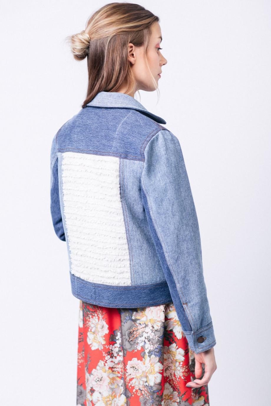 Maisa Denim Jacket The Foldline