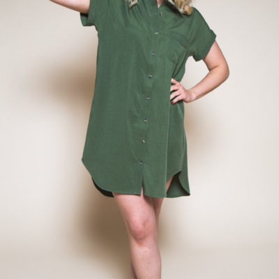 Buy the Kalle shirt & Shirt dress pack sewing pattern from Closet Case Patterns from The Fold Line