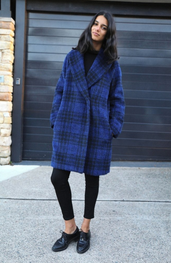 Buy the Oslo Coat sewing pattern from Tessuti Fabrics on The Fold Line.