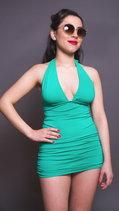 The bombshell swimsuit sewing pattern from Closet Case Patterns