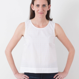 Buy the Willow tank sewing pattern from Grainline Studio from The Fold Line