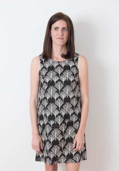 Buy the Willow dress sewing pattern from Grainline Studio from The Fold Line