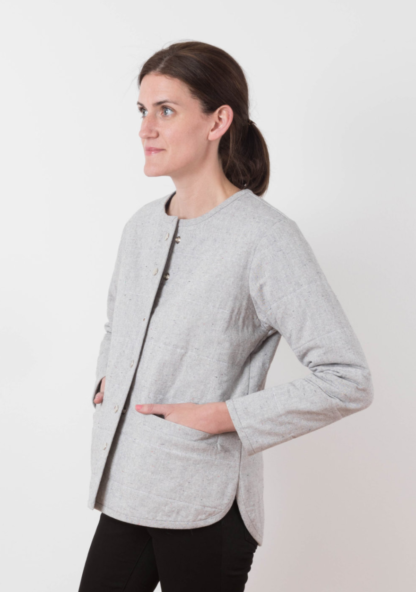 Buy the Tamarack jacket sewing pattern from Grainline Studio from The Fold Line