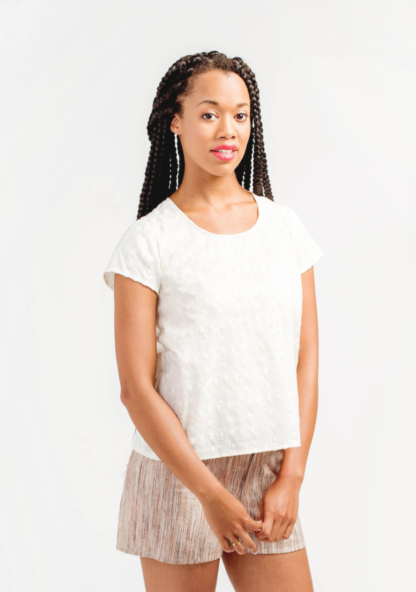 Buy the Scout Tee sewing pattern from Grainline Studio from The Fold Line