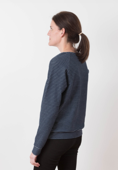 Buy the Linden Sweatshirt sewing pattern from Grainline Studio from The Fold Line
