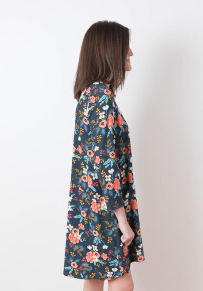 Buy the Farrow dress sewing pattern from Grainline Studio from The Fold Line