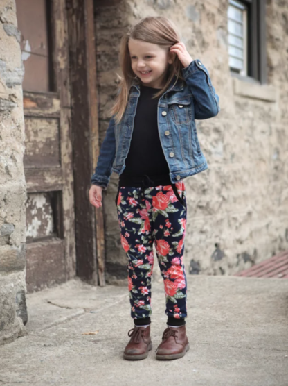 Buy the mini Hudson pants sewing pattern from True Bias from The Fold Line