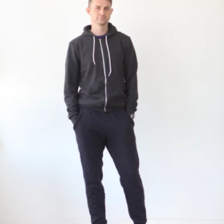 Buy the Men's Hudson pants and top sewing pattern from True Bias on The Fold Line