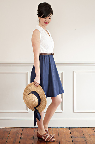 Buy the ultimate shirt dress sewing pattern from Sew Over It from The Fold Line