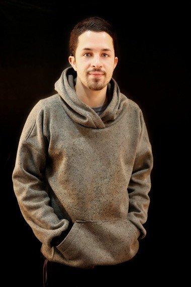 Men's Hubert Hoodie Sweater The Foldline