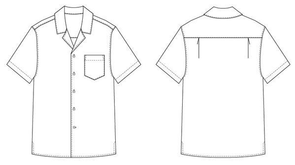 Men's Tropical Shirt - The Foldline