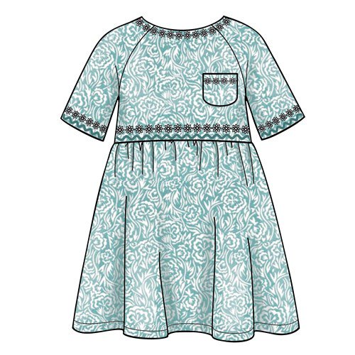 Simplicity Sewing Pattern Kids//Children/'s Dress//Top//Trousers  S8998 A