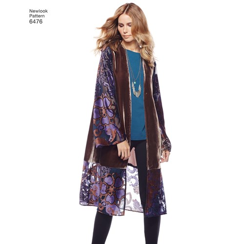 New Look Robes 6476 The Foldline