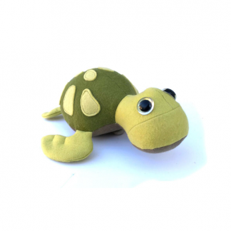 Turtle shaped toy, Baby Sea Turtle Soft Toy sewing pattern by Crafty Kooka. A soft toy pattern made in wool felt, cotton, linen, plush or minky fabrics. Sew your very own baby sea turtle with this unique and imaginative pattern.