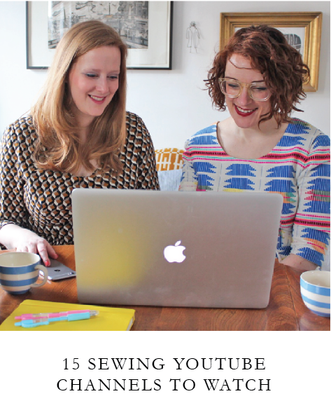 Sewing Youtube Channels