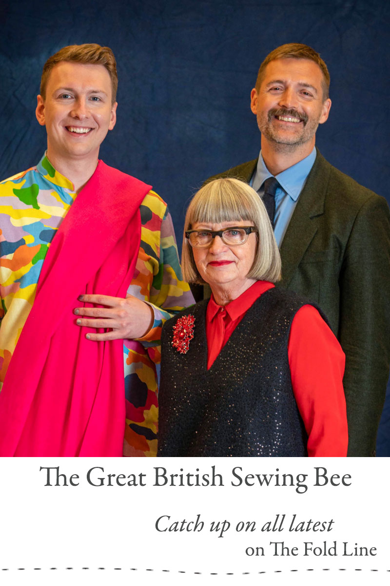 Catch up on all the latest from The Great British Sewing bee