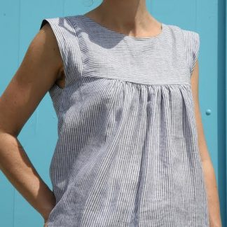 Buy the Alice Dress and Top sewing pattern from Tessuti Fabrics on The Fold Line.