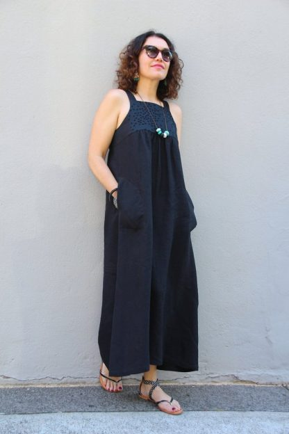 Buy the Annie Dress sewing pattern from Tessuti Fabrics on The Fold Line.