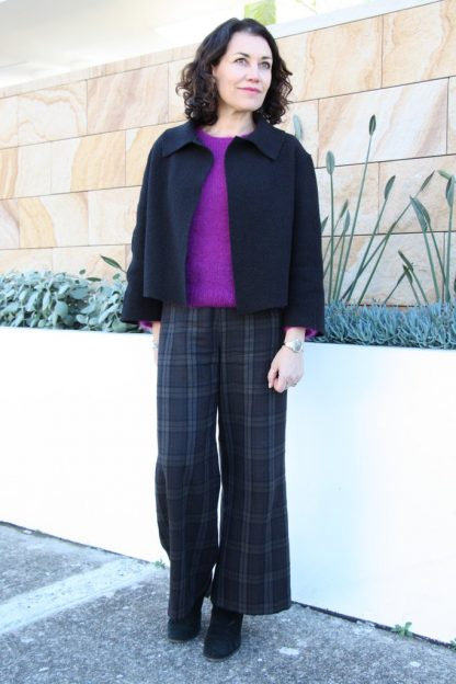 Buy the Verona Jacket sewing pattern from Tessuti Fabrics on The Fold Line.