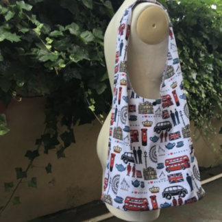 Buy the Fiona Hobo Bag sewing pattern from The Thrifty Stitcher on The Fold Line.