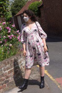 Sewstainability's McCall's 7969 dress