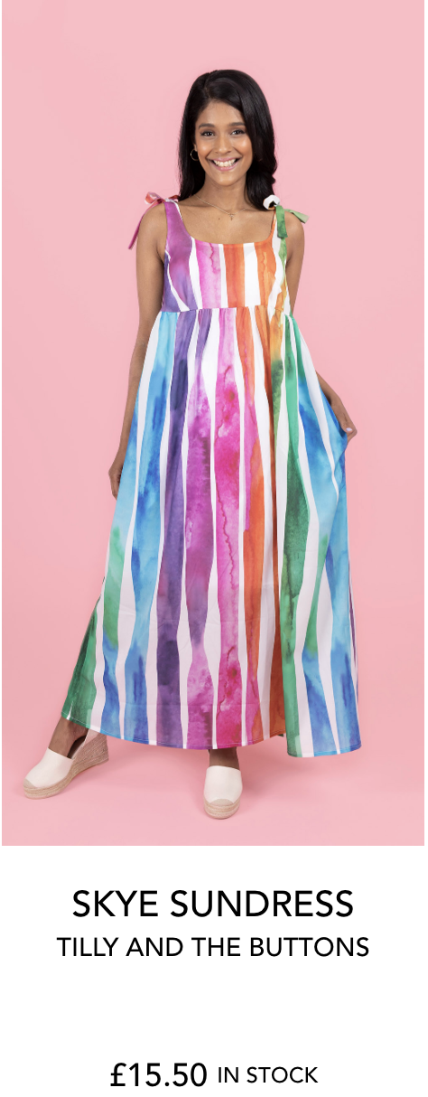 Syke sundress by Tilly and the Buttons