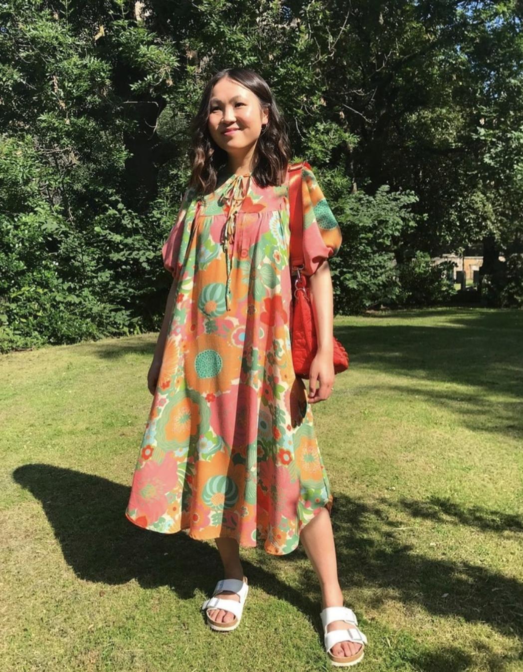 @heysewgeorgie in a Vali dress by Pattern Fantastique
