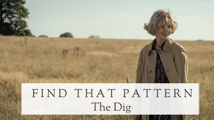 find that pattern- the dig