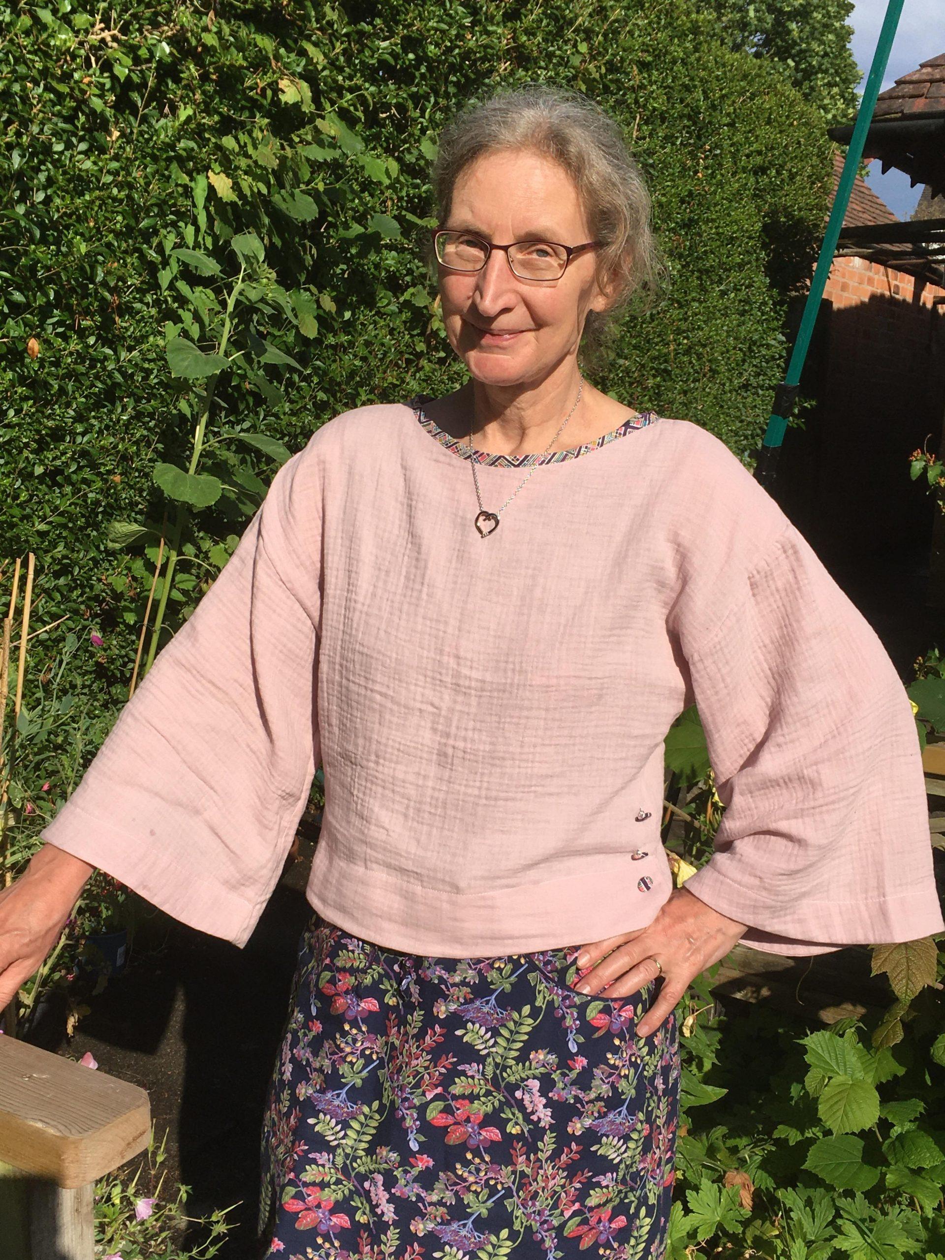 Eliza-sew-little's Nexus blouse