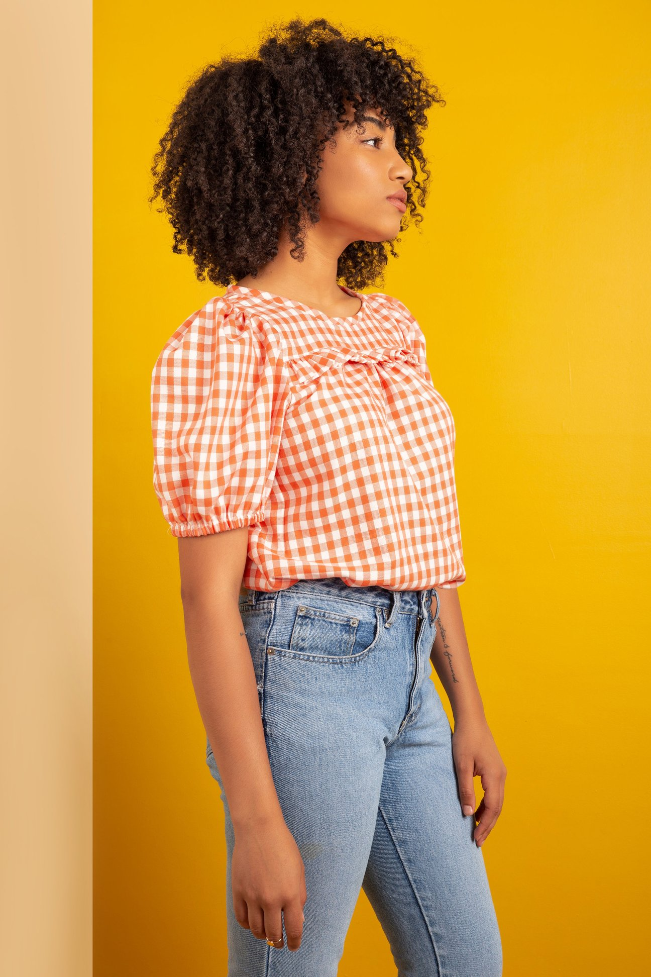 Sagebrush top by Friday Pattern Company