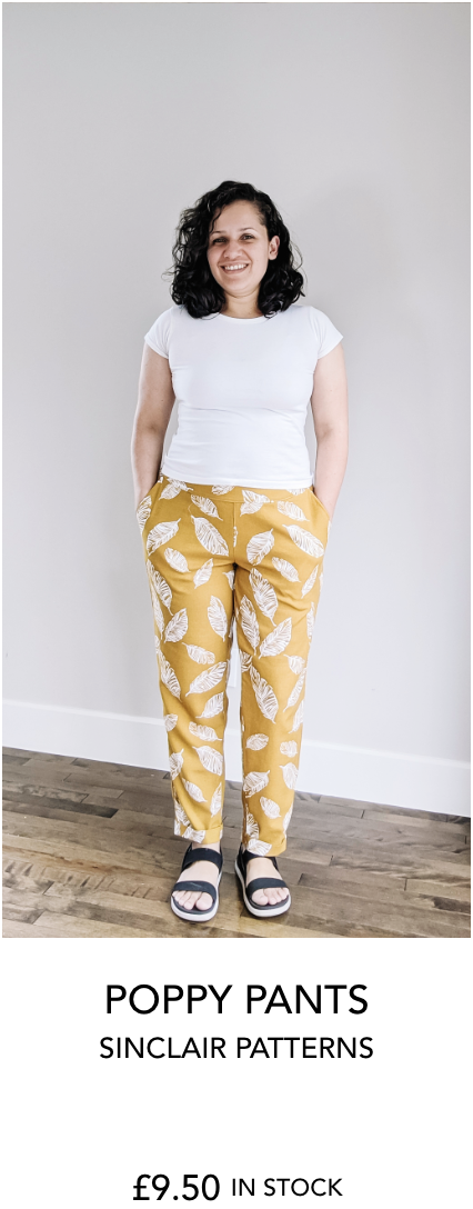 Poppy pants from Sinclair Patterns
