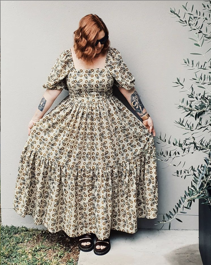 Katie Makes a Dress