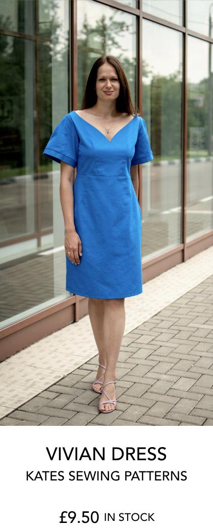 Vivian Dress by Kate's Sewing Patterns