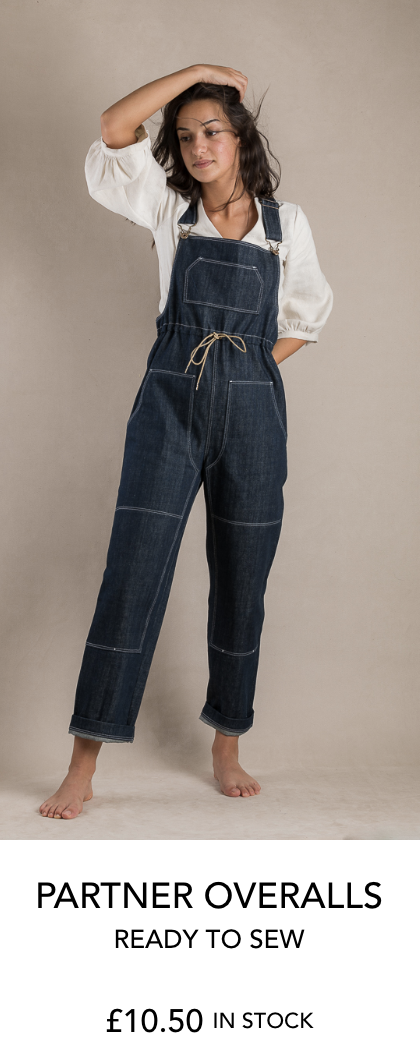 Partner Overalls sewing pattern from Ready to Sew