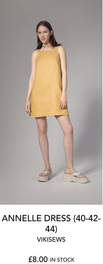ANNELLE DRESS by VIKISEWS from The Fold Line