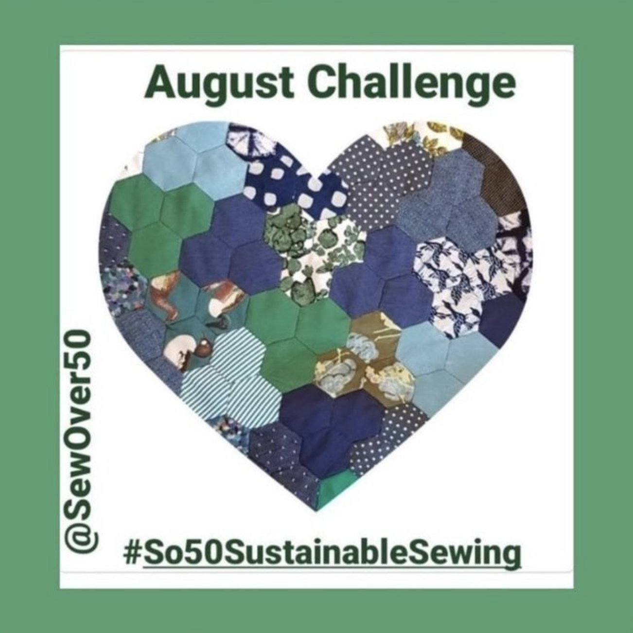 Sew Over 50 August challenge