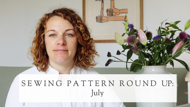 July 2021 new sewing patterns on the Foldline